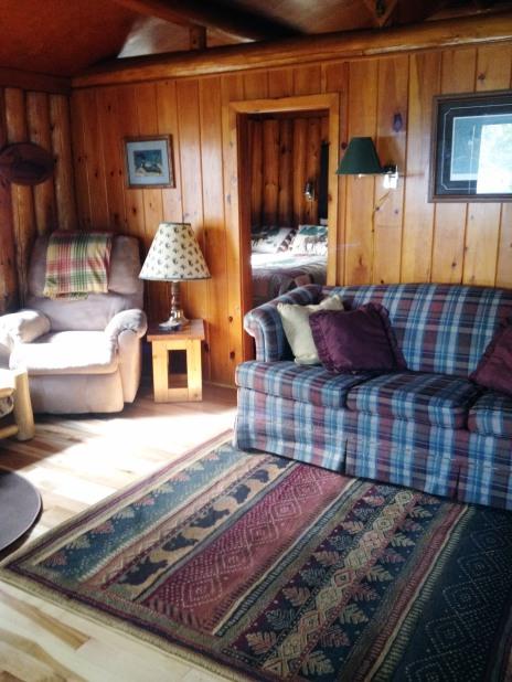 Cabin One: Livingroom