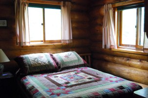 Cabin Three: Bedroom 1