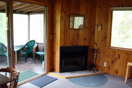 Cabin Six: Fireplace