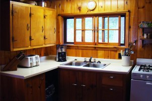 Cabin Seven: Kitchen