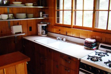 Cabin Nine: Kitchen