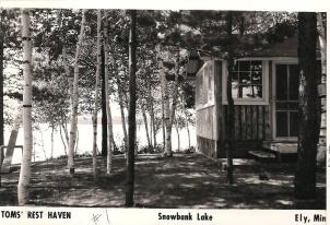 Cabin One Postcard