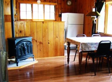 Cabin Nine: Fireplace
