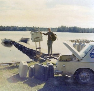 Lee at the landing, 1970
