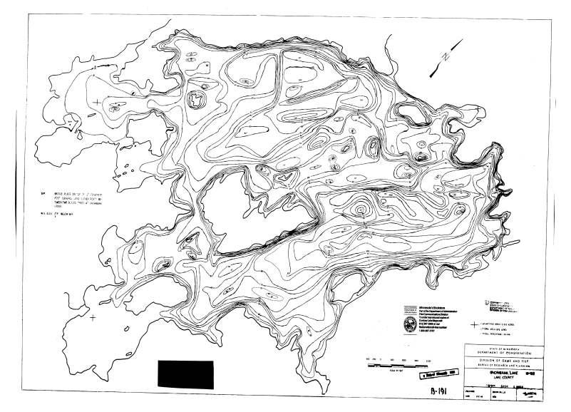 Snowbank Topo Map
