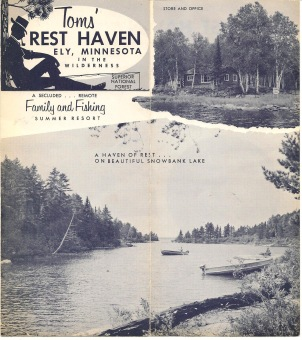 Toms' Rest Haven Brochure