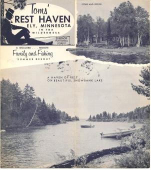 Toms' Rest Haven Brochure