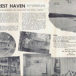 Toms' Rest Haven Brochure inside
