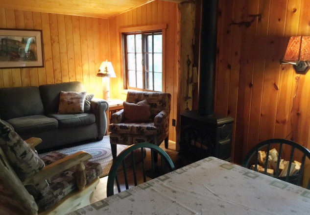 Cabin Eight: Living Space