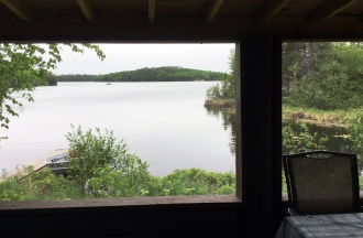 Cabin Eight: View